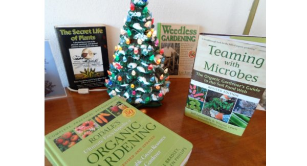Gardening books make great Christmas gifts