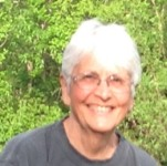 Nancy White photo - an avid gardener and teacher. She grows all their fresh vegetables for May through November.