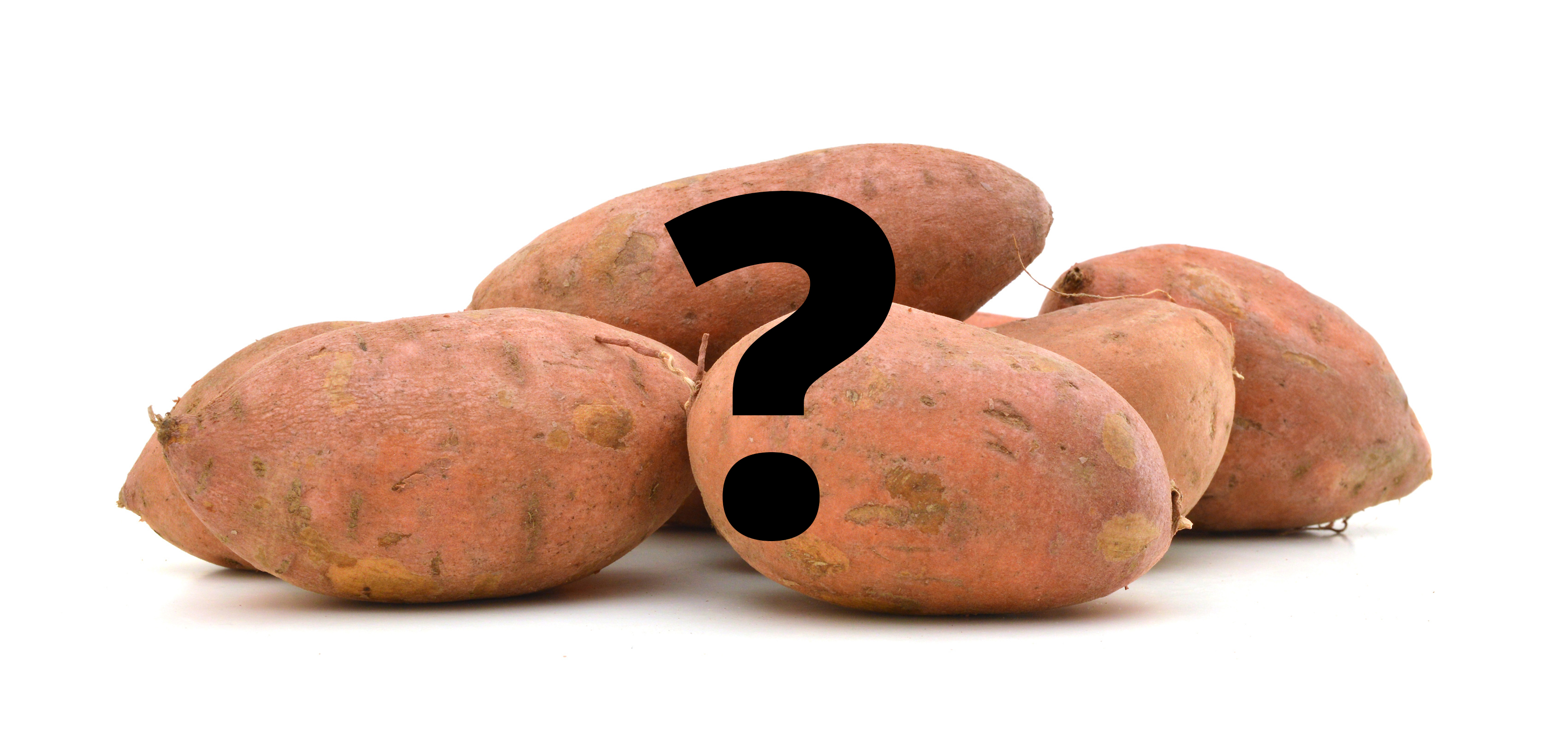 Sweet Potato Question Mark